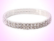 Save 92% off Sparkling Beauty Double Tier Swarovski Crystal Bracelet